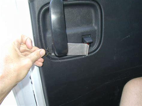 express van door handle plate