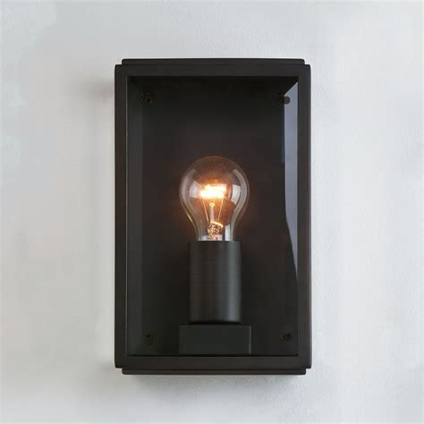 astro lighting 0483 homefield exterior black wall light