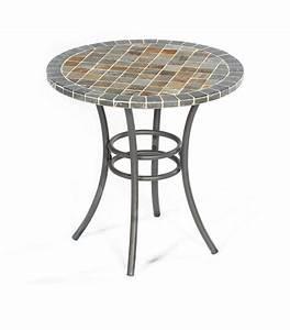 Tisch Rund 70 Cm : sonnenpartner mosaik tisch 70 rund montblanc 80060467 art jardin ~ Bigdaddyawards.com Haus und Dekorationen