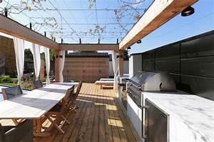 Amenagement Terrasse De Toit : am nagement d un imposant toit terrasse yook ~ Premium-room.com Idées de Décoration