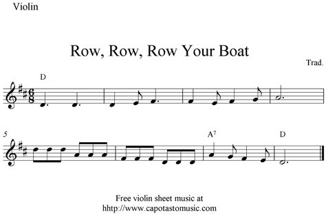 Row Your Boat Bass Tab by Free Sheet Scores Row Row Row Your Boat Free