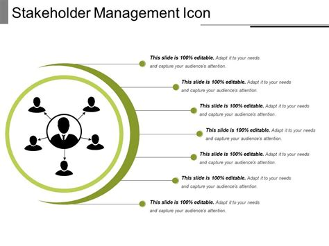 stakeholder management icon  powerpoint templates