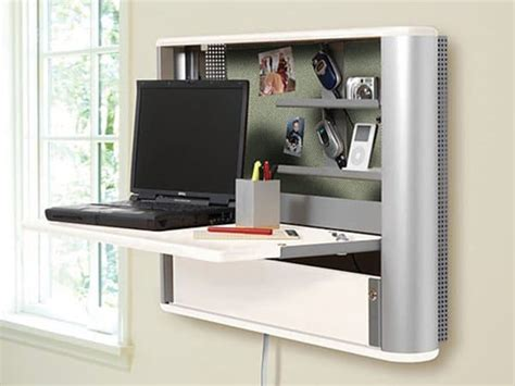 wall mounted fold out desk 16 awesome space saving products that just make sense