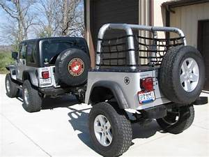 2004 Jeep Wrangler Rubicon With Custom Jeep Trailer