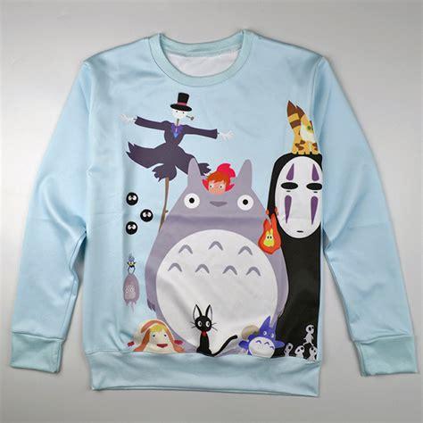 totoro sweater sudadera totoro sweatshirt wh287 on storenvy