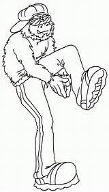 Hop Coloring Hip Dance Rap Bigfoot Colouring Desenho Colorear Colorir Clipart Super Tudodesenhos Boys Ausmalbilder Mario Drawing Imprimir Twister Ausmalbild sketch template