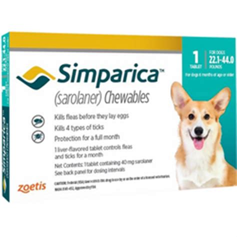 buy simparica  dogs simparica oral flea tick