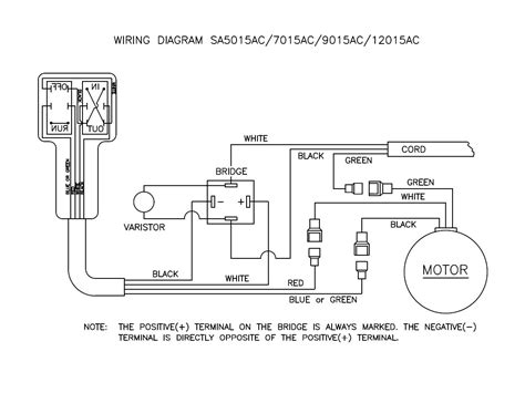 120 Volt Ac Wiring Diagram by 120 Volt Ac Winches With Remote Switch Manual Dutton