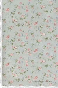 Papier Peint Fleuri : liberty rose et turquoise papier peint lut ce la vie ~ Premium-room.com Idées de Décoration