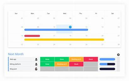 Monday Software Scheduling Calendar Intuitive Started Before