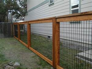 Build Welded Wire Fence Panels — Peiranos Fences : Welded