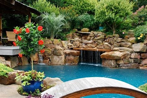 tropical pool landscaping tropical garden oasis tropical pool dallas by original landscape concepts inc