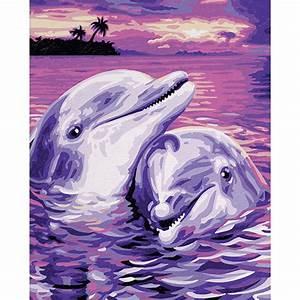 Schöne Delfin Bilder : schipper malen nach zahlen kids delfine 24 x 30 cm ~ Frokenaadalensverden.com Haus und Dekorationen