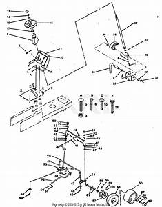 Poulan Xc1120b Tractor Parts Diagram For Steering And Front Axle