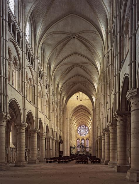 Gothic Architecture  Notredame Nave And Choir  Began In