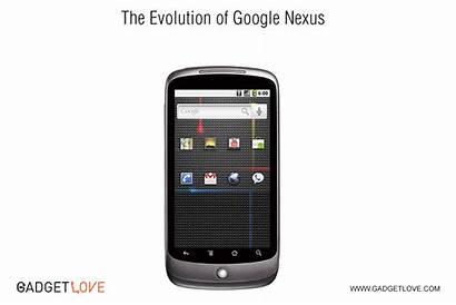 Nexus Phone Evolution Phones Animation Google Evolved