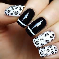 Black and white nail art designs nenuno creative