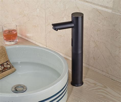 wadsworth touchless oil rubbed bronze bathroom sink faucet