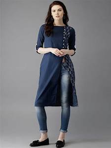 Latest Kurta with Jeans Trends around the Glob - Womenitems.Com