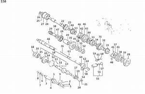 Nissan Pathfinder Key Woodruff  Snap Ring  Transmission