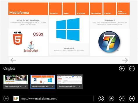 windows 8 1 deux explorateurs internet sont disponibles