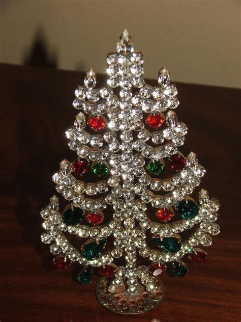 czech standing christmas tree decoration  rlreproshop