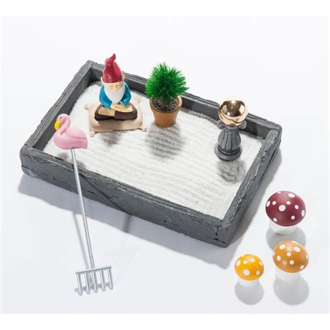 mca chicago store gnome in the home tabletop zen garden
