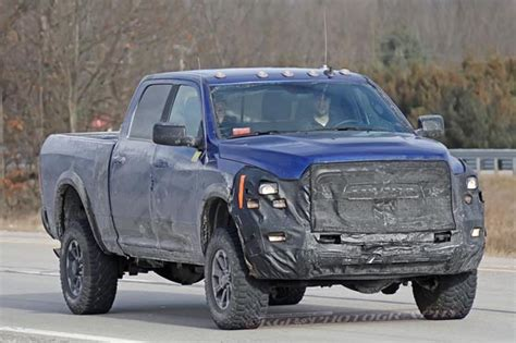 2020 Ram 2500 Power Wagon Grille Spied Pickuptruckscom