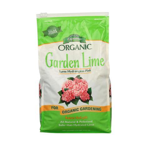 garden lime  lb turns hydrangeas pink plant food