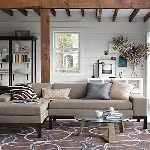 lorimer chaise right arm sofa modern sofas by west elm With west elm lorimer sectional sofa