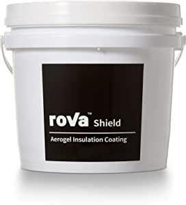 rova shield aerogel insulation coating black label