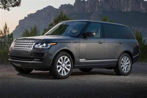 land rover suv 2016 land rover range rover pricing for sale edmunds