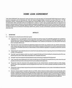 loan agreement form example 65 free documents in word pdf With free mortgage loan documents