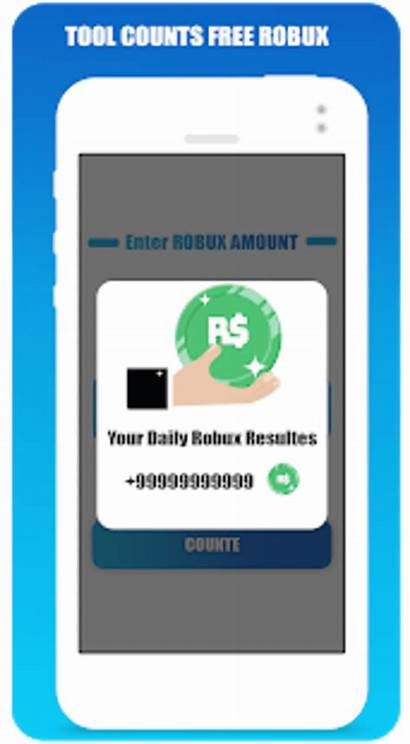 Robux Roblox Counter Android Screenshot Apk