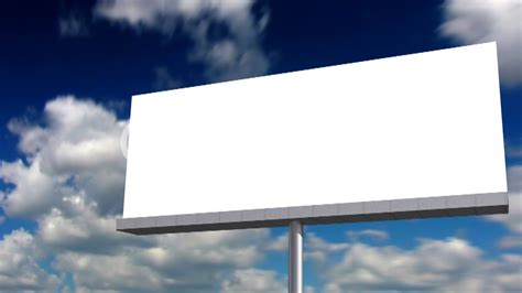 Blank billboard: Royalty-free video and stock footage