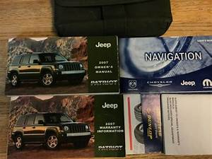 2007 Jeep Patriot Owners Manual Set With Navigation Guide
