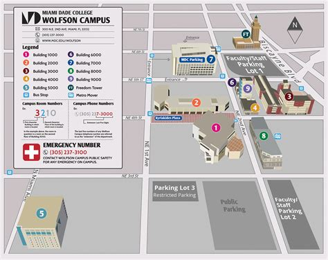 cus map directions wolfson cus miami dade college