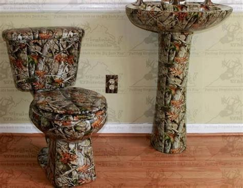 camo bathroom accessories real rednecks say quot water