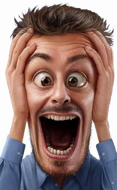 Crazy Faces Scream