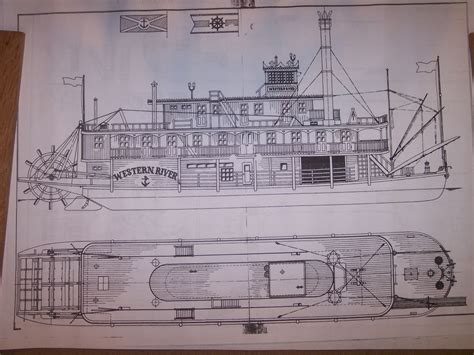 Model Boat Plans Ebay wheel river boat ship boat model boat plans ebay