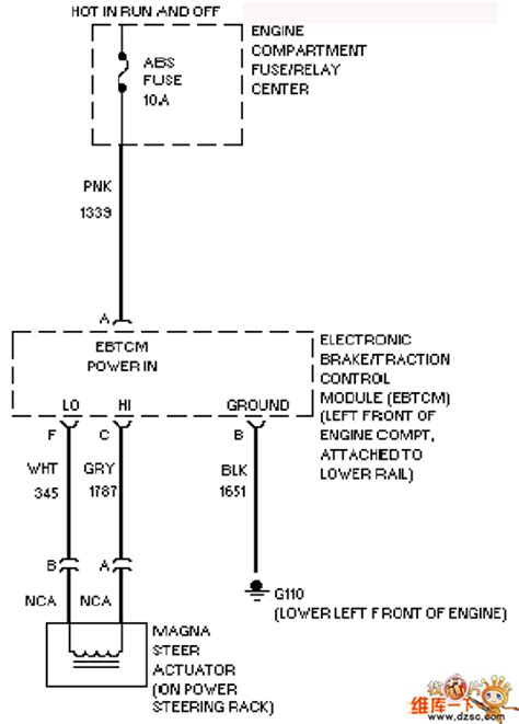 Cadillac Electronic Control Changing Direction Circuit