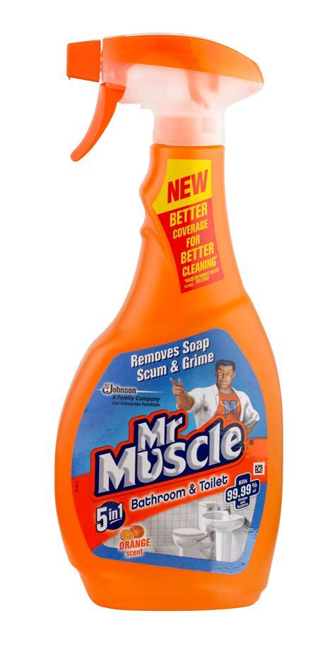 Mr Muscle Bathroom cleaner Bottle, 500 ml   Departments