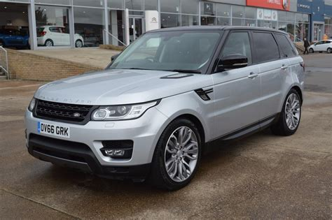 Range Rover Sport 16 Sdv6 Hse Dynamic Review Range Rover Evoque Panoramic Roof Replacement Best Image