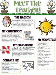 25+ best ideas about Teacher Introduction Letter on