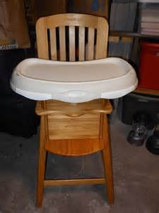 eddie bauer wood high chair 03033b4b reviews amp prices