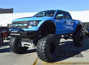 Image Gallery lifted blue ford raptor
