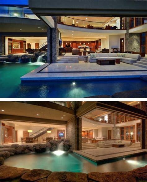 luxury house design  hawaii  pool surrounds