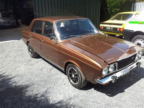 renault ireland 1972 holbay hunter gls sold car and classic