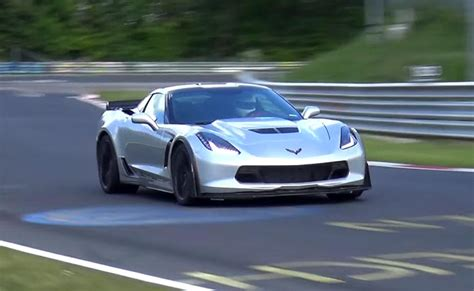 Corvette Z06 Nurburgring Time by Nurburgring Time For The C7 Corvette Z06 Completed And