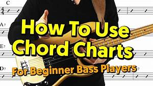 Beginner Bass Player Guide To Chord Charts